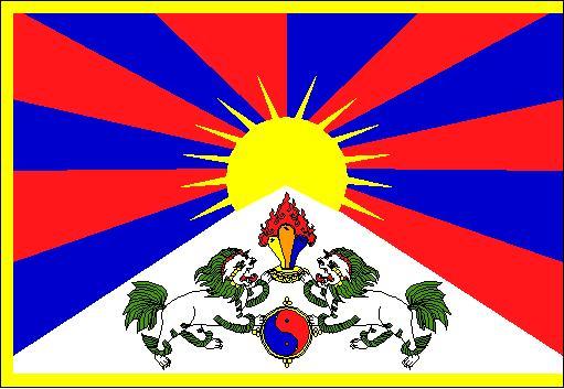 Jeux Olympiques de Pékin 2008 - Streaming et retransmissions - Page 5 Tibet-flag