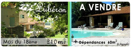 Achat vente superbe maison dans le lub ron for Achat maison luberon