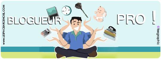 Un Blogueur Professionnel est souvent très occupé :-)