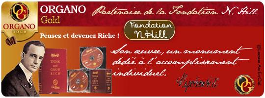 Café Santé Fondation Napoléon Hill Organo Gold :-)