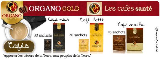 Organo Gold Café Santé les Produits Café :-)