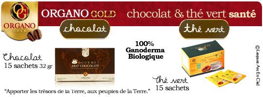 Organo Gold Chocolat Gourmet et Thé :-)
