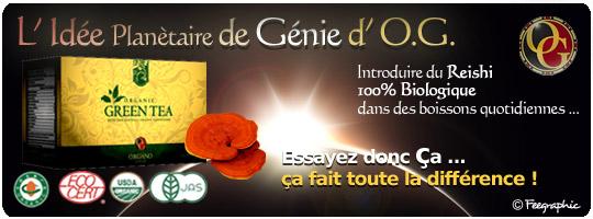 Organo Gold Thé Vert
