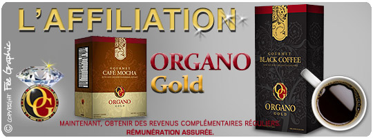 Affiliation Organo Gold :-)