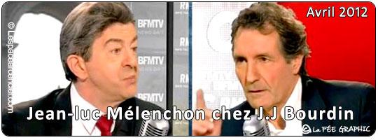 Jean-Luc Mélenchon chez J.J Bourdin RMC/BFM TV