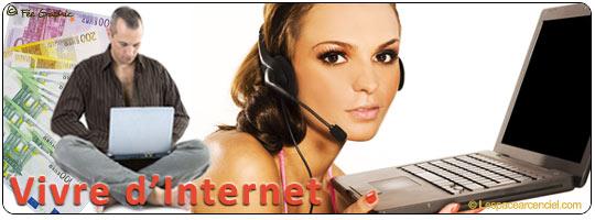 Vivre d'Internet ?