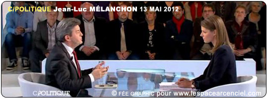 Jean-Luc Mélenchon France 05 C/Politique 13 mai 2012