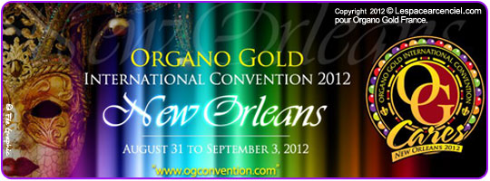 Organo Gold Convention New Orleans 2012