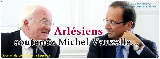 Hollande Vauzelle Arles 2012