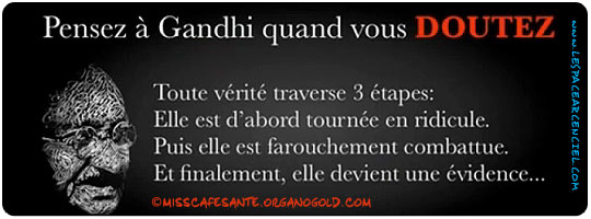 Gandhi et le Marketing Relationnel ...
