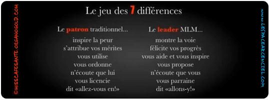 Sept différences...